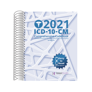 ICD-10-CM Comprehensive CodeBook for 2021