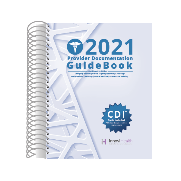 Multi-Specialty Provider Documentation GuideBook for 2021