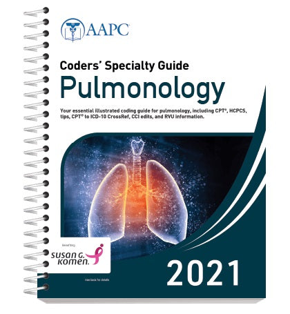 Coders Specialty Guide Pulmonology