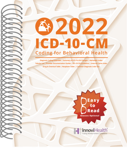 Behavioral Health ICD-10-CM Coding for 2022