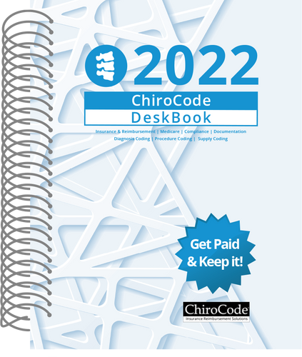 ChiroCode DeskBook for 2022