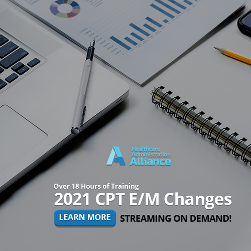 2021 CPT E/M Changes Digital Training