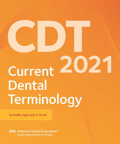 CDT 2021: Dental Procedure Codes