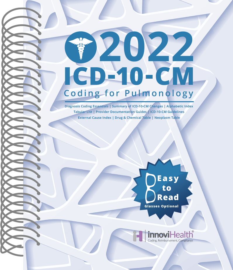 Pulmonology ICD-10-CM Coding for 2022