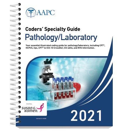 Coders Specialty Guide Pathology/Laboratory