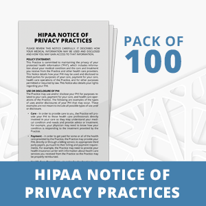 HIPAA Notice of Privacy Practices for Patients