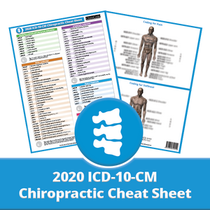 Chiropractic ICD-10-CM Cheat Sheet for 2020 by ChiroCode