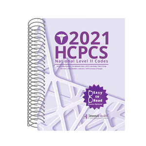 HCPCS Coding Level 2 for 2021