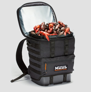 Ruckbucket by MUUL 3/4 angle black open