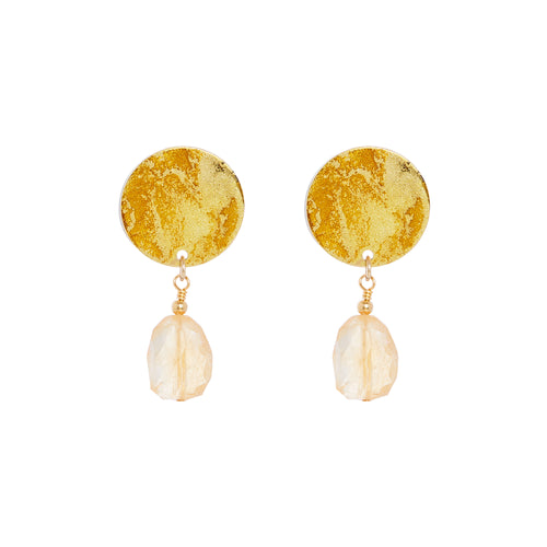 Gold Mini Drop Earrings - Available in More Colors
