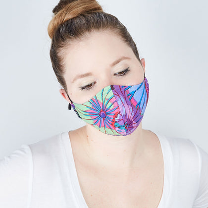 Cotton Cloth Face Mask - Save the Rainforest - Odell Design Studio