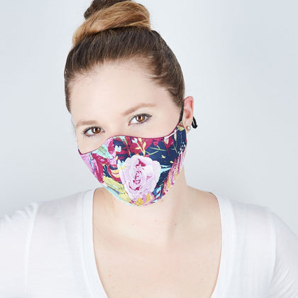Cotton Cloth Face Mask - The Monet - Odell Design Studio