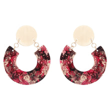 Load image into Gallery viewer, Gold Horseshoe Earrings - Available in More Colors - Odell Design Studio