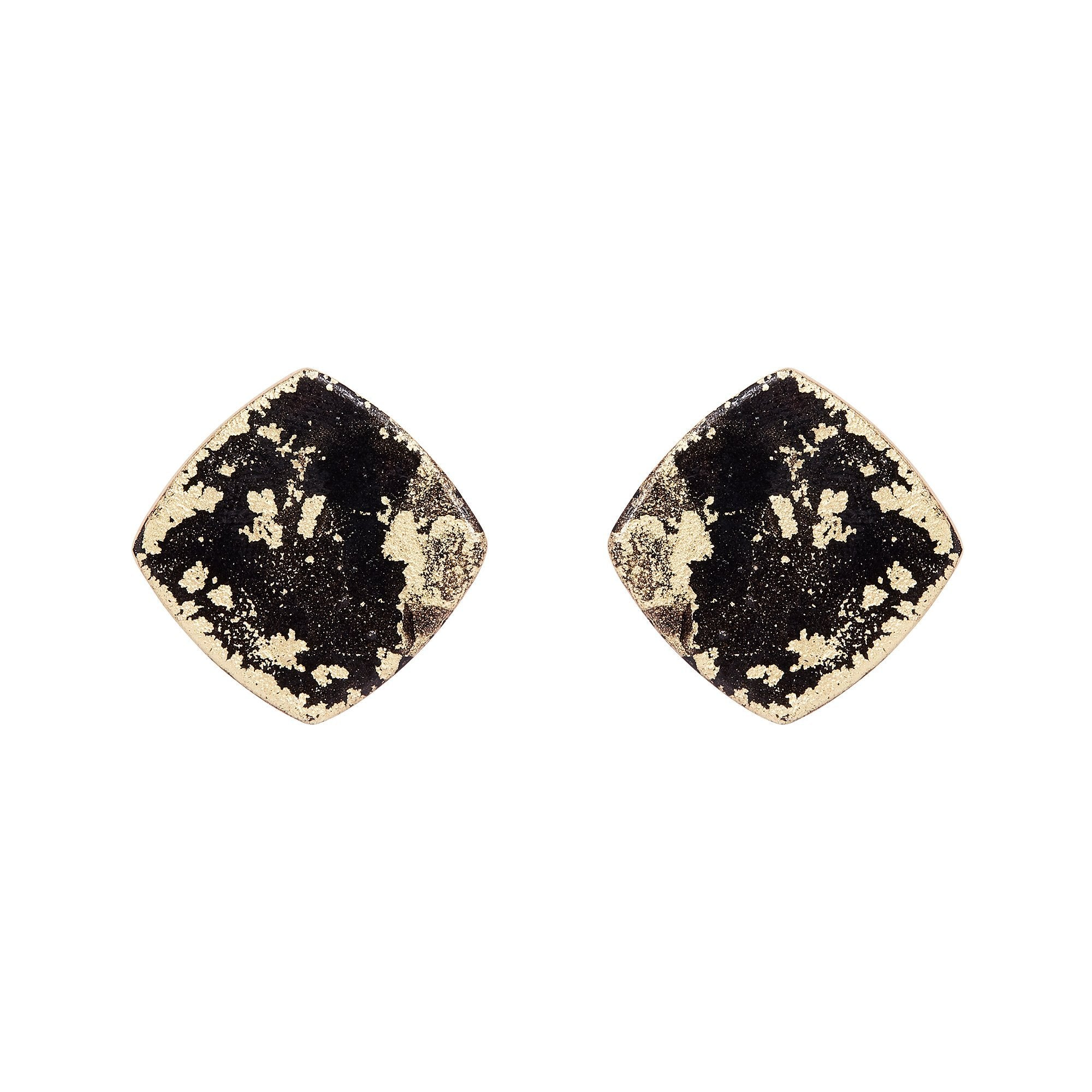 Gold Mini Diamond Earrings - Available in More Colors