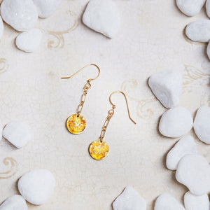 Gold Petit Dangle Earrings - Available in More Colors