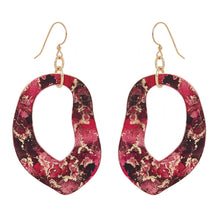 Load image into Gallery viewer, Gold Print Earrings - Odell Design Studio