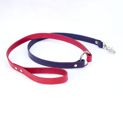 Large Leather Dog Leash - Available in More Colors - Odell Design Studio