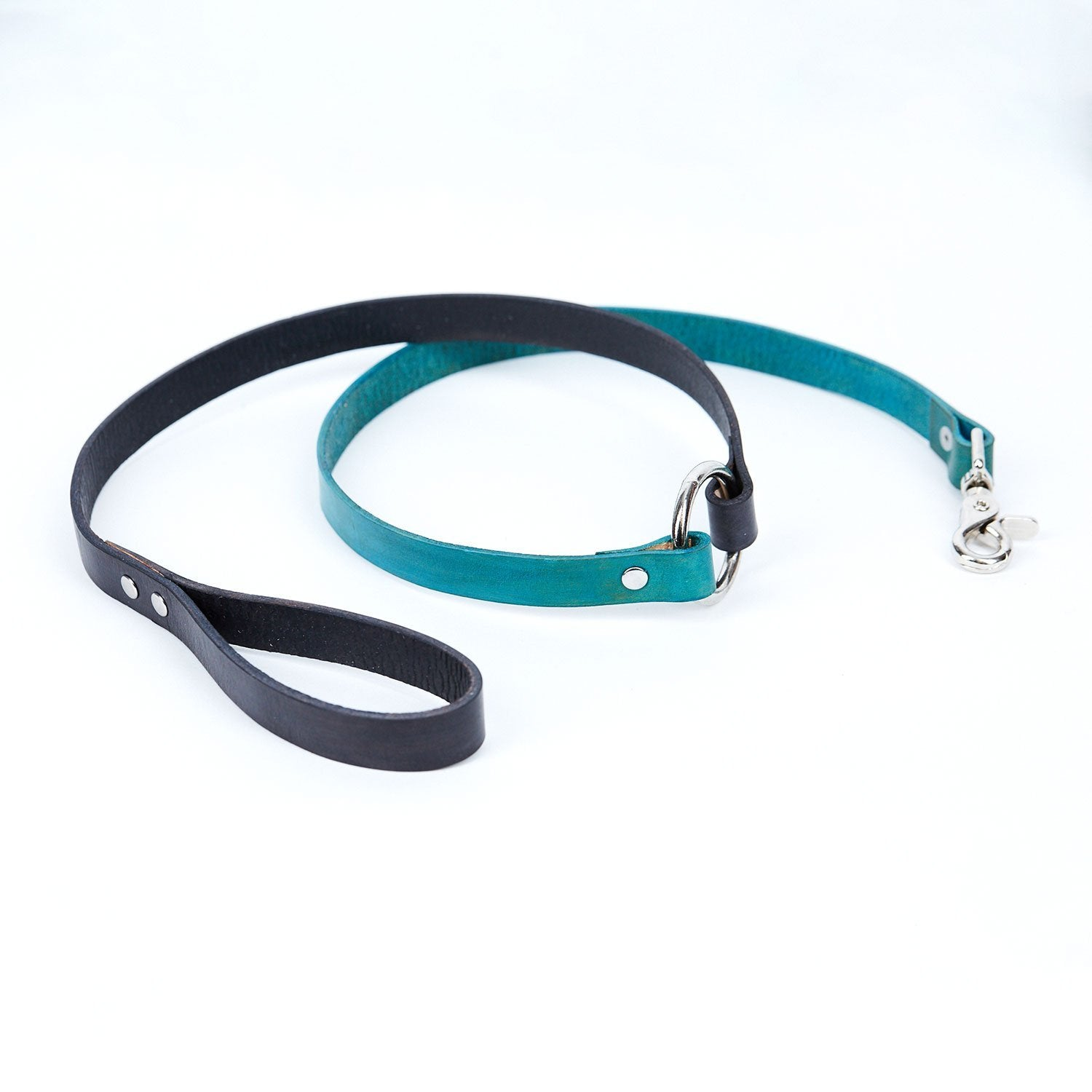Large Leather Dog Leash - Available in More Colors