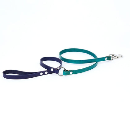Medium Leather Dog Leash - Available in More Colors - Odell Design Studio