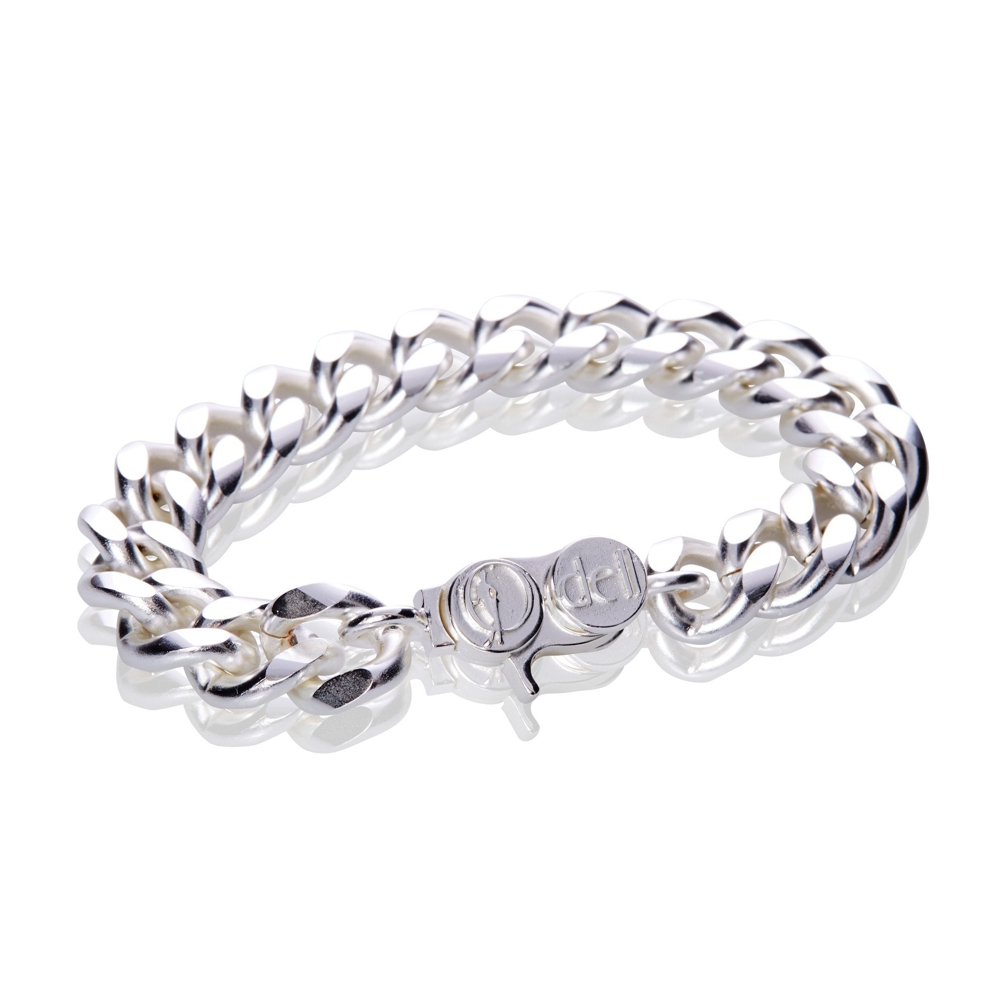 Signature Silver Classic Heavy Cable Chain Bracelet