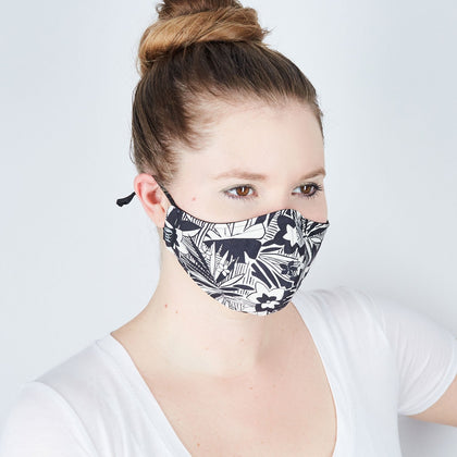 Silk Cloth Face Mask - Miami Vice - Odell Design Studio