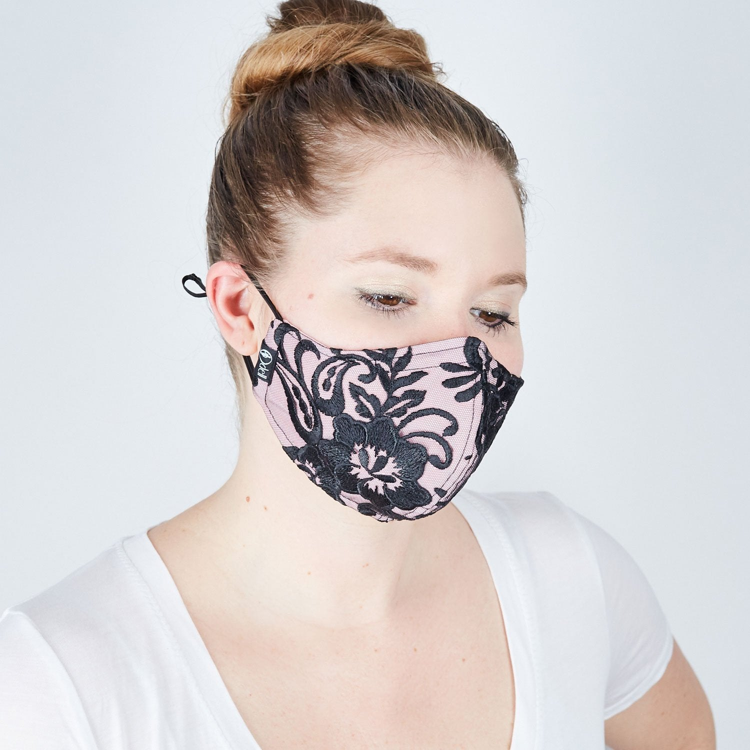 Silk Cloth Face Mask - Pretty in Pink