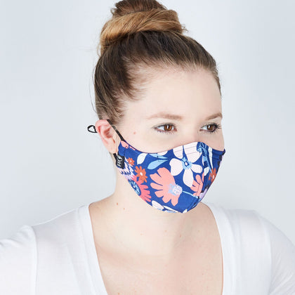 Silk Cloth Face Mask - Secret Garden - Odell Design Studio