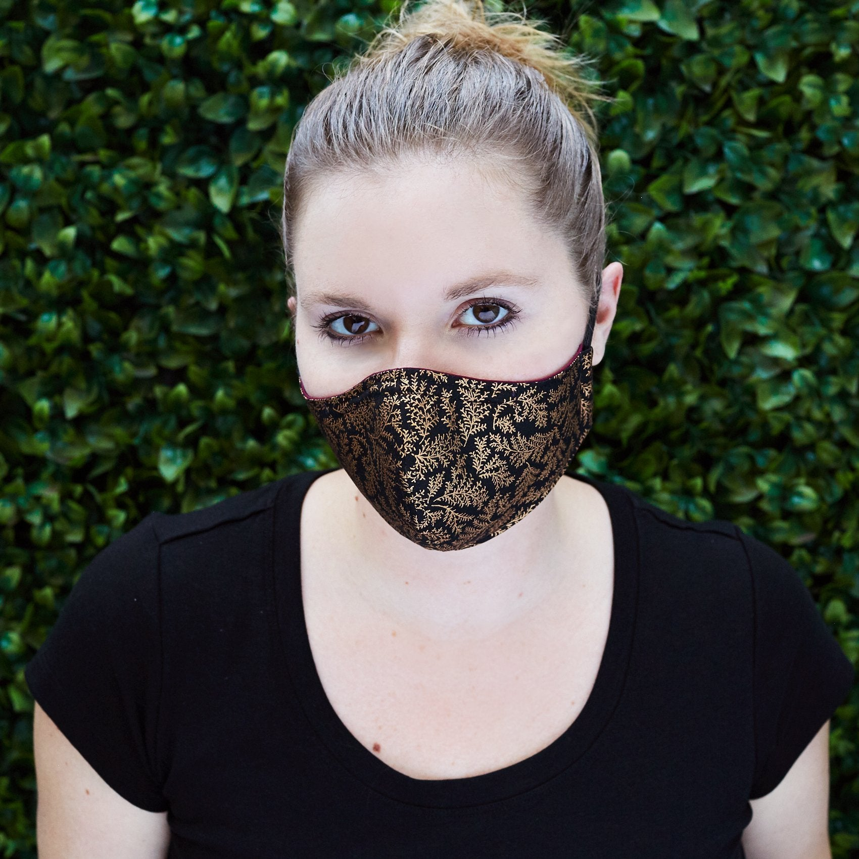 Silk + Cotton Cloth Face Mask - Puttin' on The Glitz