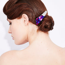 Load image into Gallery viewer, Silver Angle Barrette - Odell Design Studio