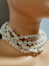 Load image into Gallery viewer, Swarovski Crystal wedding necklace