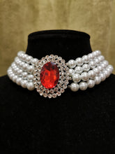 Load image into Gallery viewer, Princess Diana Ruby Necklace