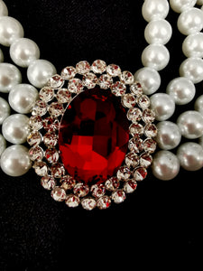 Princess Diana Ruby Necklace