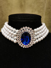 Load image into Gallery viewer, Princess Diana sapphire Necklace