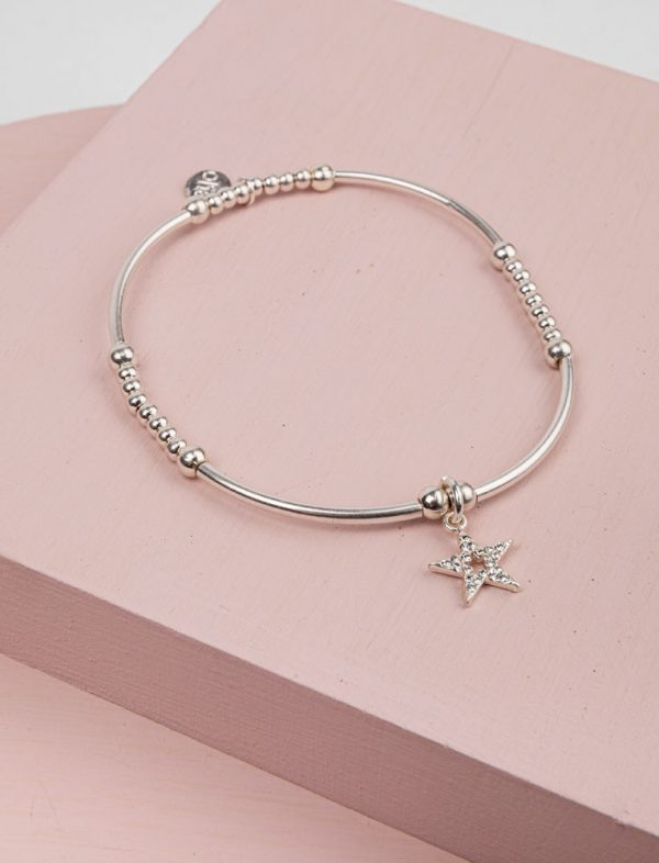 Olia Calypso Bracelet in Silver with Star Charm