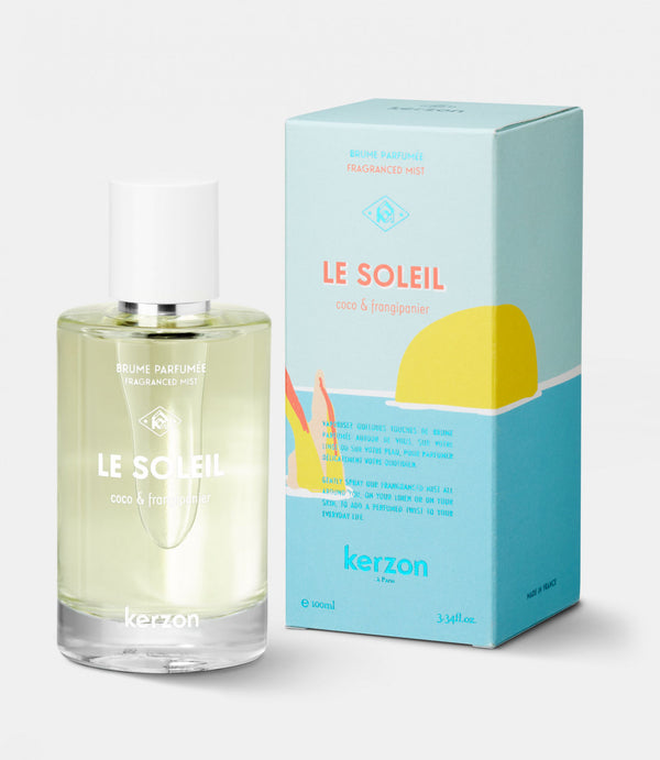 Kerzon Paris Le Soleil Perfume Fragrance Spray 100ml