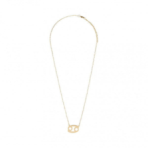 Sofie Schnoor Gold Plated Cancer Star Sign Zodiac Necklace