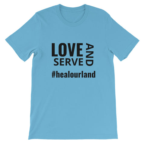Love and Serve #healourland