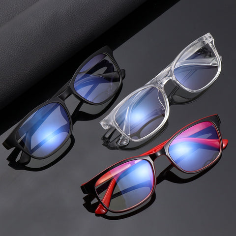 Fashion Blue Light Blocking Glasses Unisex Clear Lens*  Men