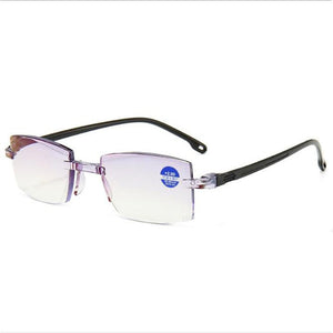 Blue Light Radiation Computer Presbyopia Readers * Ultralight Rimless Reading Glasses * 1.0 To  4.0