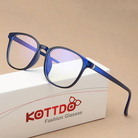Anti-Blue Light Retro Mens Glasses Frame Fashion