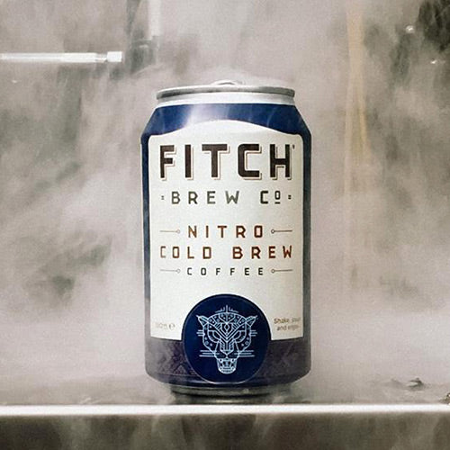 Fitch Brew Co Nitro Cold Brew Coffee