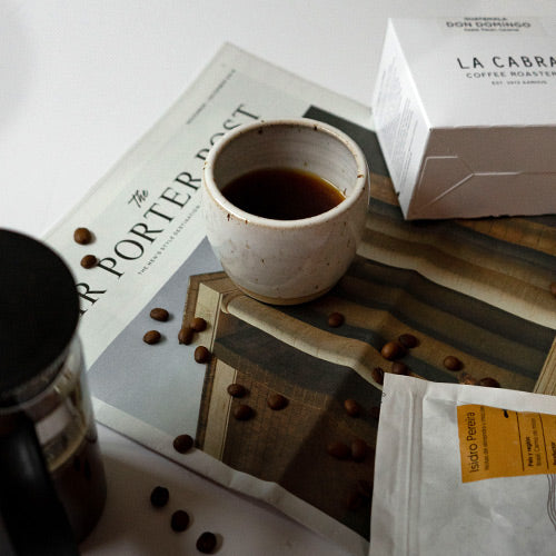 Chris Harvey Approved La Cabra And SlowMov Wholebeans Coffees