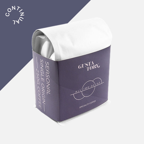 Subscribe To The Mainstay By GUSTATORY Decaf Speciality Coffee Subscription
