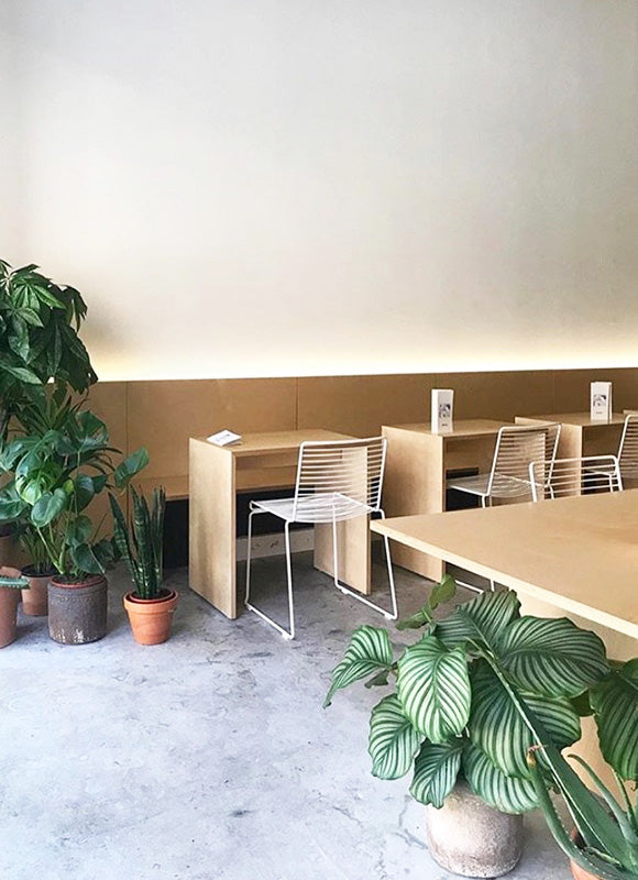 Minimalist Decor of Mother Espresso Cafe