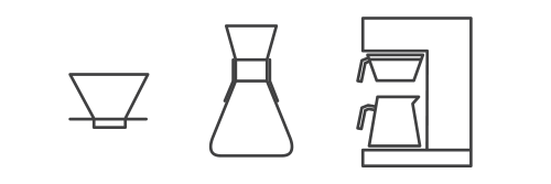 Pour Over Types And Filter Machine