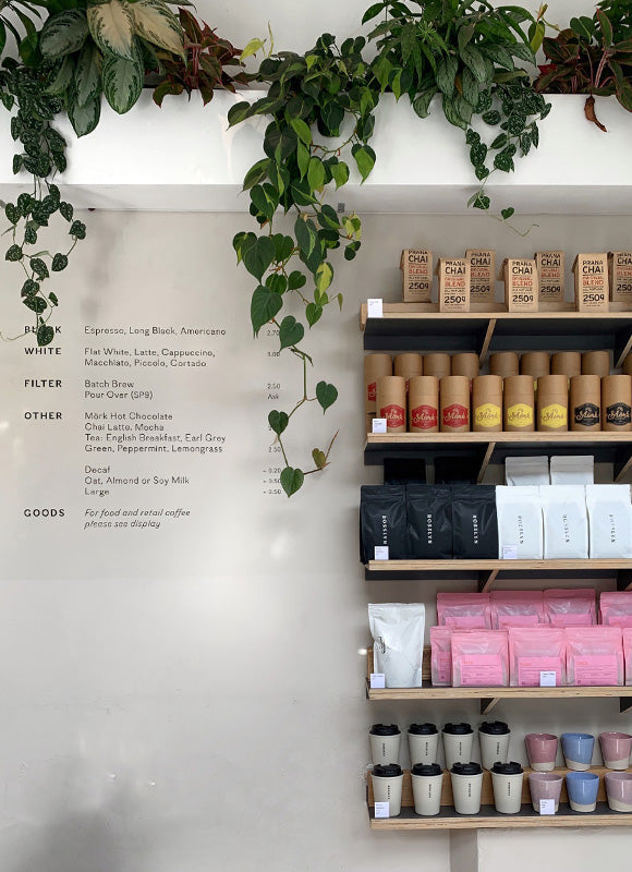Rosslyn Coffee Cafe Serving Square Mile Colonna And Modern Standard Coffee