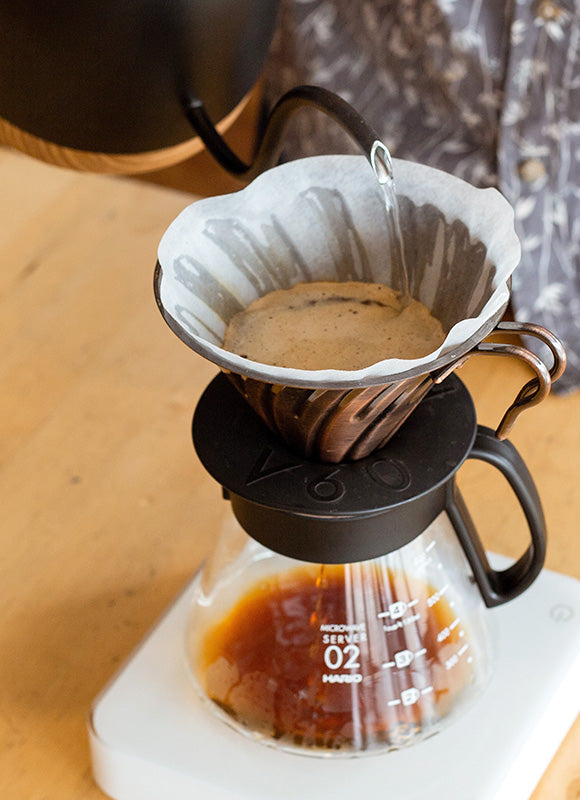 V60 Filter Coffees With The Brewtime App