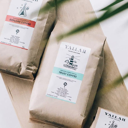 Yallah Trust Wholebeans Coffee