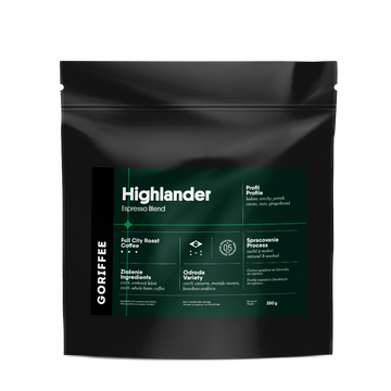 Goriffee Highlander Espresso Blend Coffee