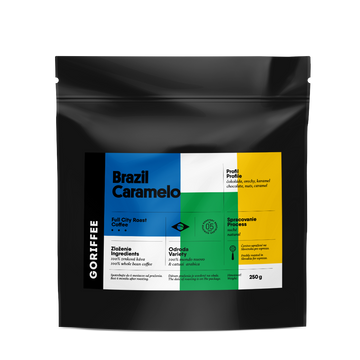 Goriffee Brazil Caramelo Natural Coffee
